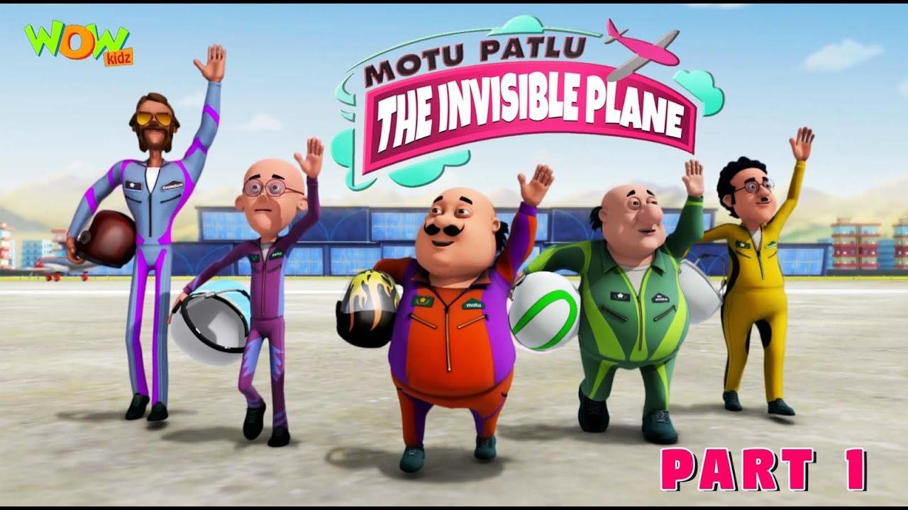 Motu Patlu Invisible Plane Part 01 Movie Movie Mania 1 Movie