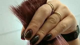 Как творится каскад стрижка от Виктории La Familia salon семейная парикмахерская Короленко 66а