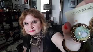 Мои серьги и клипсы. My earrings and clip ons
