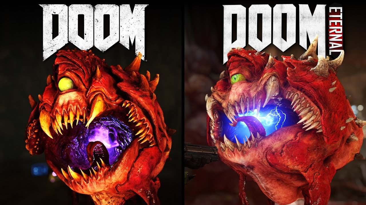 DOOM Eternal vs DOOM | Direct Comparison thumbnail