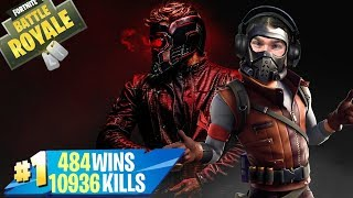 "🔴 FORTNITE Lv.100 NOUVEAU SET AVENGERS!"" SKIN STAR-LORD (EN) CODE SUPPORT -xiuderone"