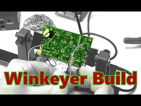 Winkeyer CW Kit Soldering Build | Beginner Ham Radio CW Training