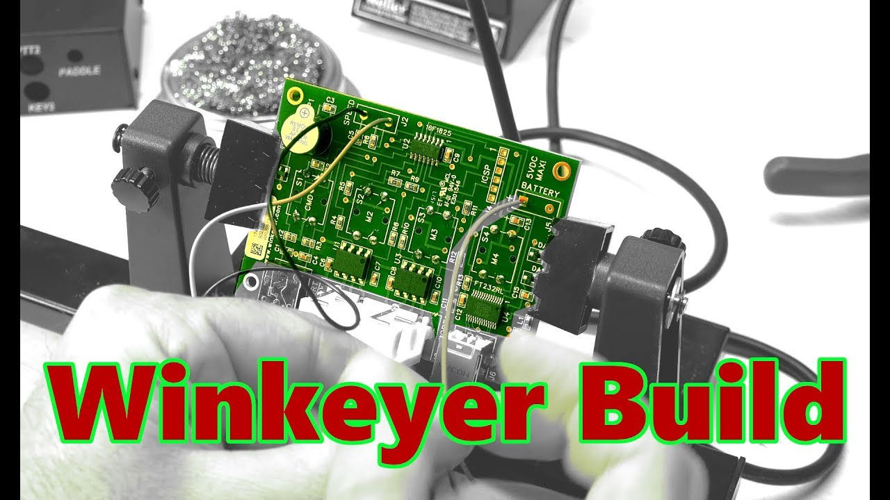 Winkeyer CW Kit Soldering Build | Beginner Ham Radio CW Training