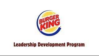 Leadership programs in Europe: Burger King