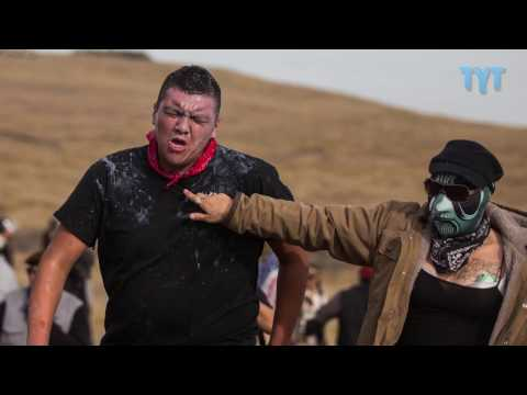 DAPL Worker With Assault Rifle Infiltrates Standing Rock