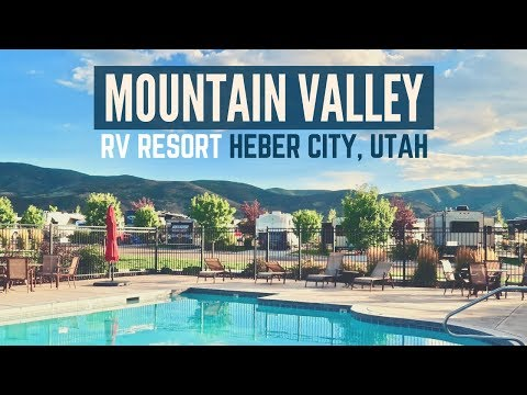 Mountain Valley RV Resort in Heber City, Utah 🚐🇺🇸 Full Time RV Living & Traveling ⛺✌ Utah Camping