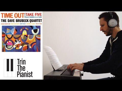 Take Five - Dave Brubeck - Piano cover + Sheets