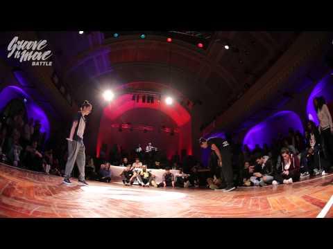 GROOVE'N'MOVE BATTLE 2015 - Tutting semi-final / Leïla vs Celso Boog