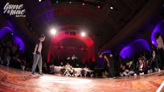 GROOVE'N'MOVE BATTLE 2015 - Tutting semi-final / Leïla vs Celso Boog