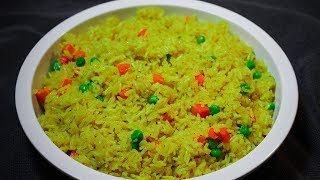How To Cook Perfect Yellow Rice On The Stovetop