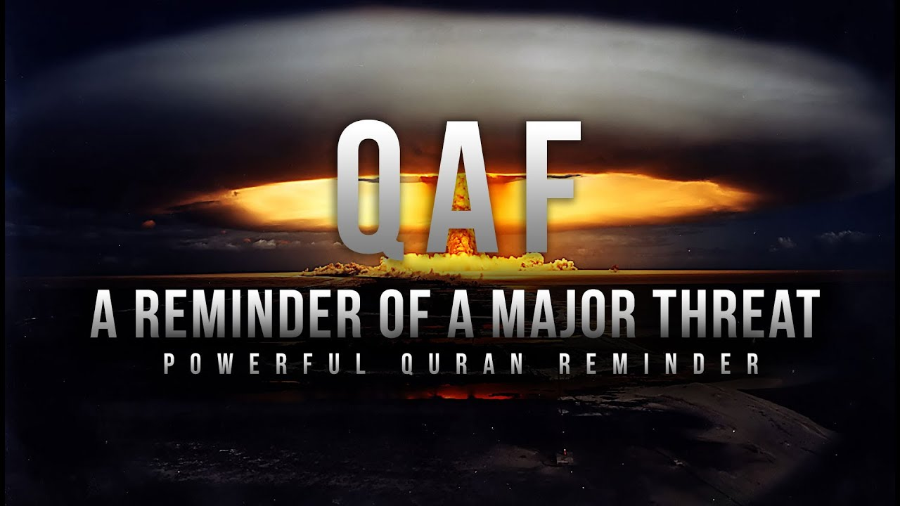 A Reminder of a Major Threat - QAF