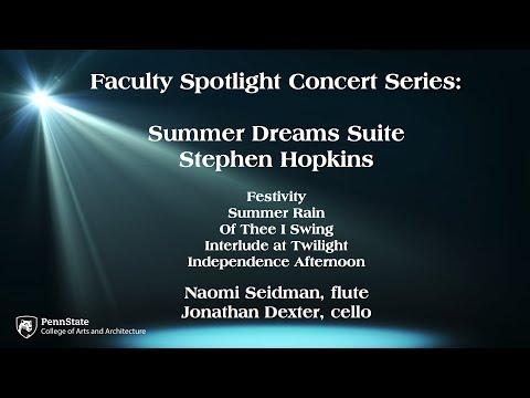 Stephen Hopkins: Summer Dreams Suite