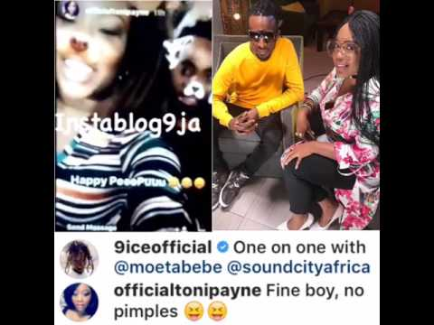9ice and his ex-wife, Toni Payne Hangout Together