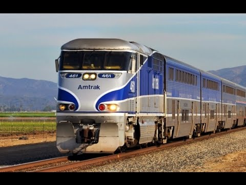 Amtrak Pacific Surfliner Train 15th Anniversary: LA - SLO