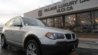 2005 BMW X3 2.5i in review - Village Luxury Cars Toronto