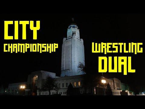 City Championship Wrestling Dual Vlog - Nebraska High School Wrestling Vlogs  Lincoln East Wrestling