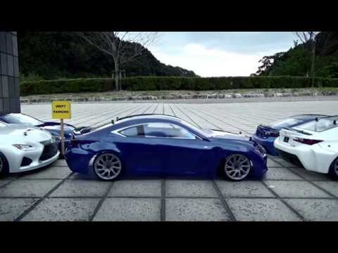 Play Time: Remote-Control Precision Drifting with Lexus