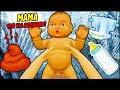 Как же это сложно быть МАМОЙ для Малыша стань Мамой в веселой игре Симулятор Матери летсплей #ФГТВ