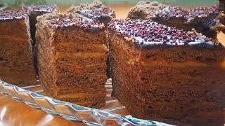 Вы Влюбитесь в этот рецепт Шоколадный Медовик Торт Спартак без раскатки коржей