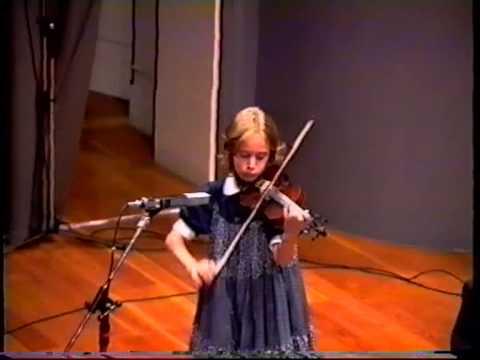 Anna Tifu 8 anni Pugnani Kreisler
