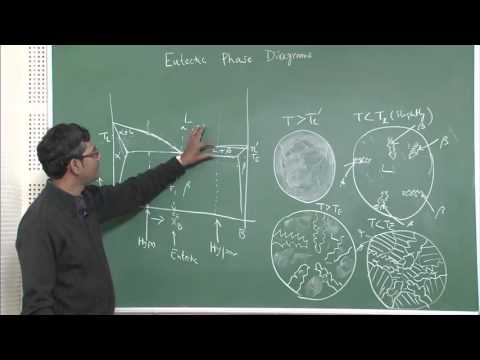 Lecture 13 : Solidification of eutectic, hyper-eutectic alloys & their morphologies II