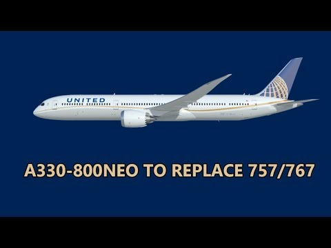 United Eyes A330neo For 757/767 Fleet...