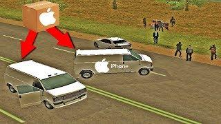 БРИГАДА ОТЖАЛА БОЛЬШУЮ ПАРТИЮ Iphone X ! НИКТО НЕ ОЖИДАЛ?!! GTA:CRMP