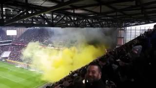 1.FC KÖLN VS DYNAMO DRESDEN⚽️ PYRO AUFSTAND DER DRESDNER🔥