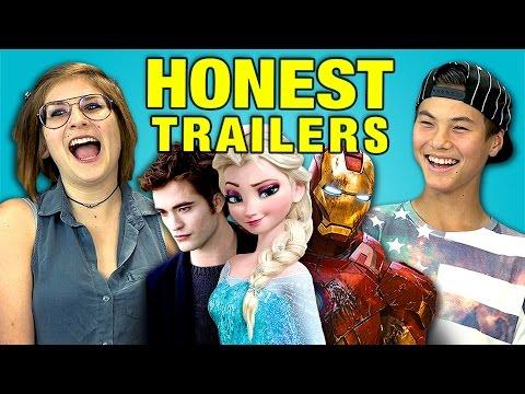 Teens React to Honest Trailers