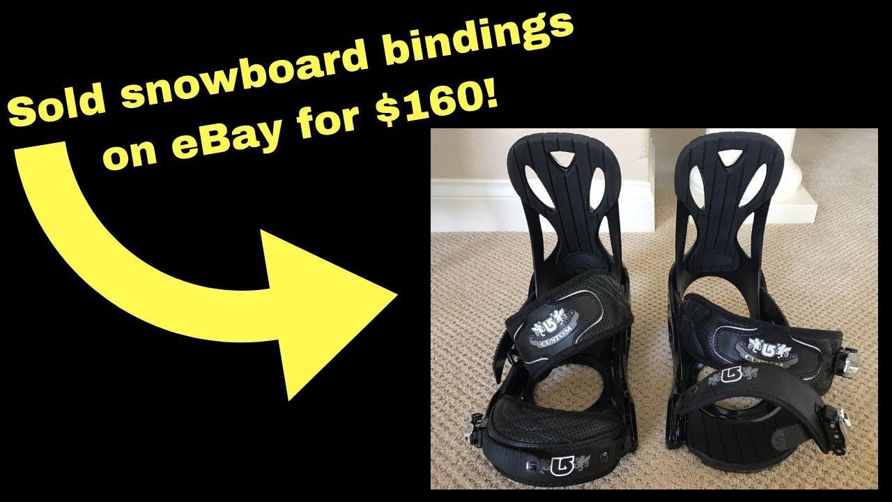 e4dbf6f22d0b I sold snowboard bindings on eBay for  160 - YouTube
