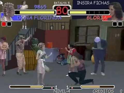 Street Chaves - Gameplay - Dona Florinda
