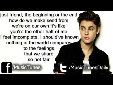 Carly Rae Jepsen  - Beautiful Lyrics Feat  Justin Bieber