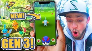 50+ NEW POKEMON in Pokemon GO! (Gen 3 Update)