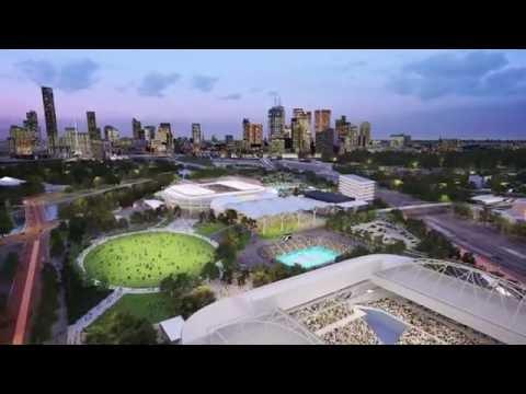 Melbourne Park - Masterplan - Stages 1, 2 & 3 - Jan 2016