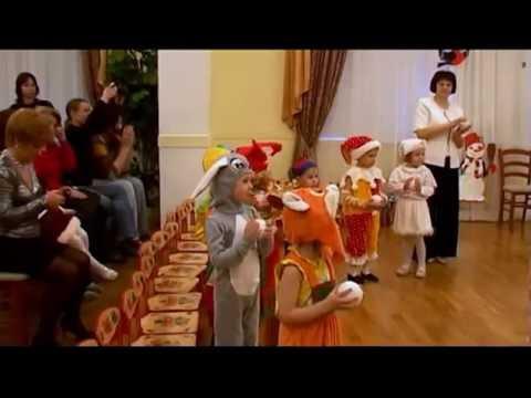 Ролик Танец со снежками (2 младшая группа) детский сад 15