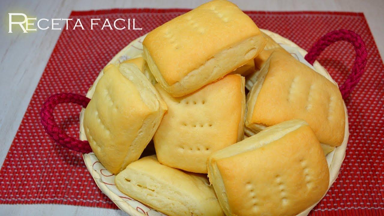 Como Hacer Bizcochos Facil Pan De Grasa