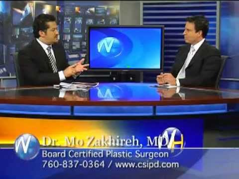 Dr. Mo Zakhireh Plastic Surgeon discussing Mommy Makeovers with Randy Alvarez.