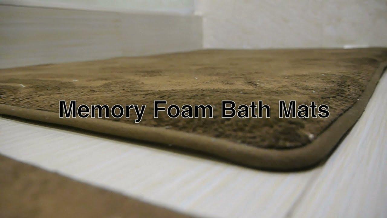 memory foam bath mat bathroom rugs in large contemporary modern