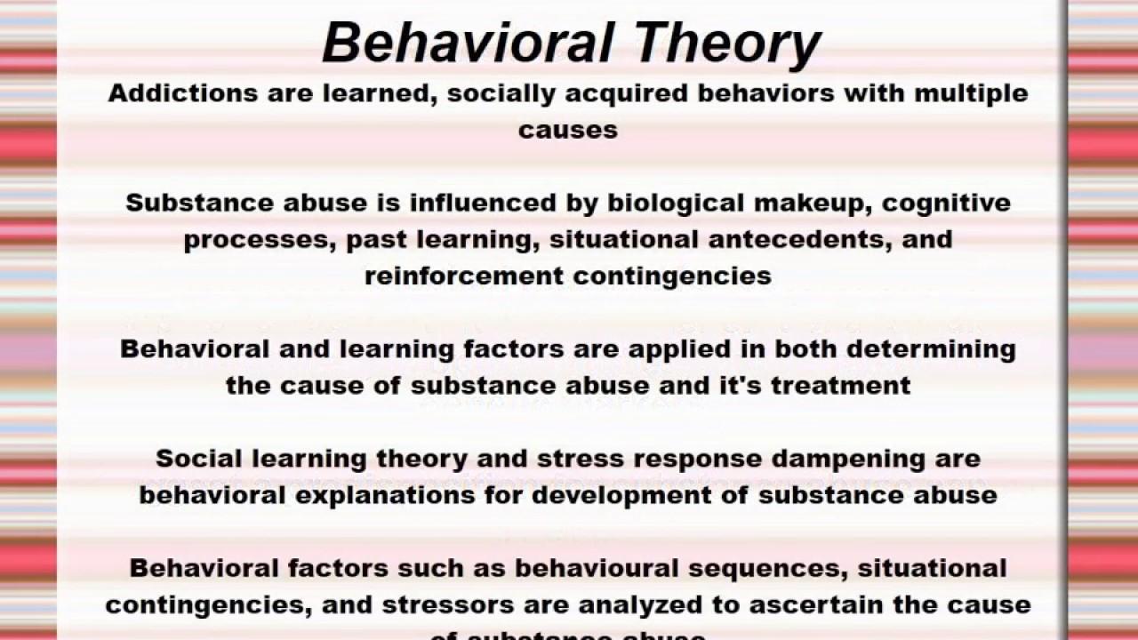 theories of the etiology of addiction Etiological theories of substance abuse etiology of substance use karrar husain theories of addiction-choice theory powerpoint jennifer laubenstein.