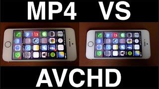 Video: MP4 vs AVCHD |Diferencia de calidad