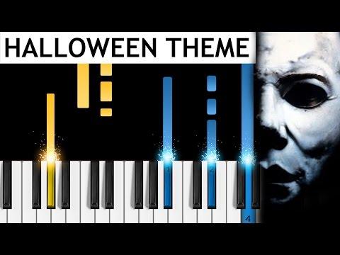 Halloween Theme  Piano Tutorial  How to play John Carpenter's Halloween on piano