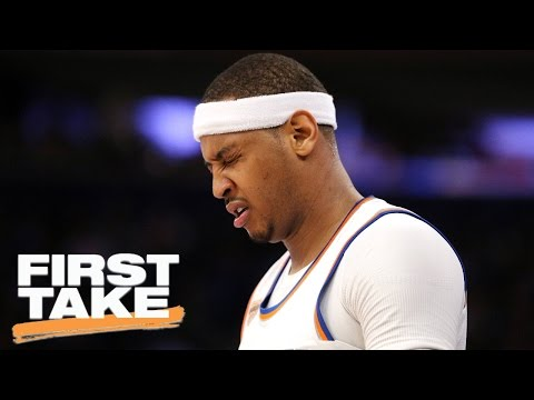 Stephen A. Is 'Very Sad' With How Carmelo Will Be Remembered | First Take | April 12, 2017