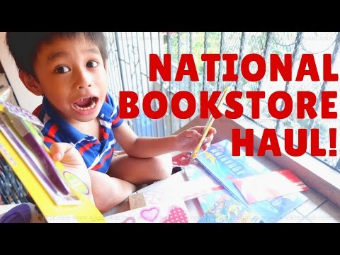 VLOG: BACK-TO-SCHOOL SHOPPING WITH NATIONAL BOOKSTORE
