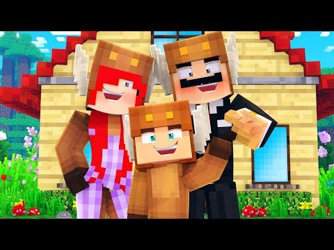 Minecraft Daycare - MOOSECRAFT'S MOM & DAD! (Minecraft Kids Roleplay) thumbnail