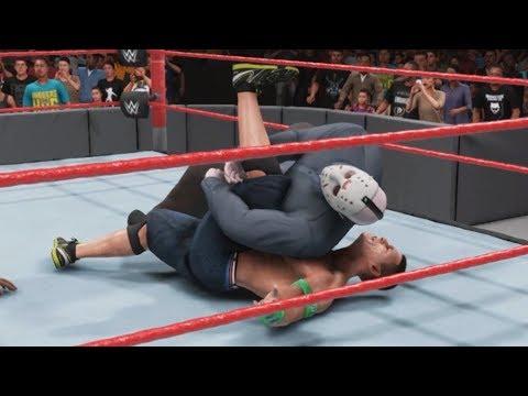 WWE 2K19 - JASON VOORHEES vs JOHN CENA - Gameplay (PC HD) [1080p60FPS] |