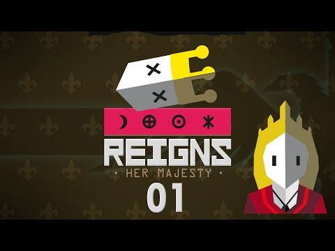 REIGNS HER MAJESTY | QUEEN TINDER SIMULATOR #01 - Let's Play Gameplay
