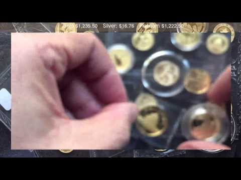 When is it worth grading modern fractional semi-bullion gold