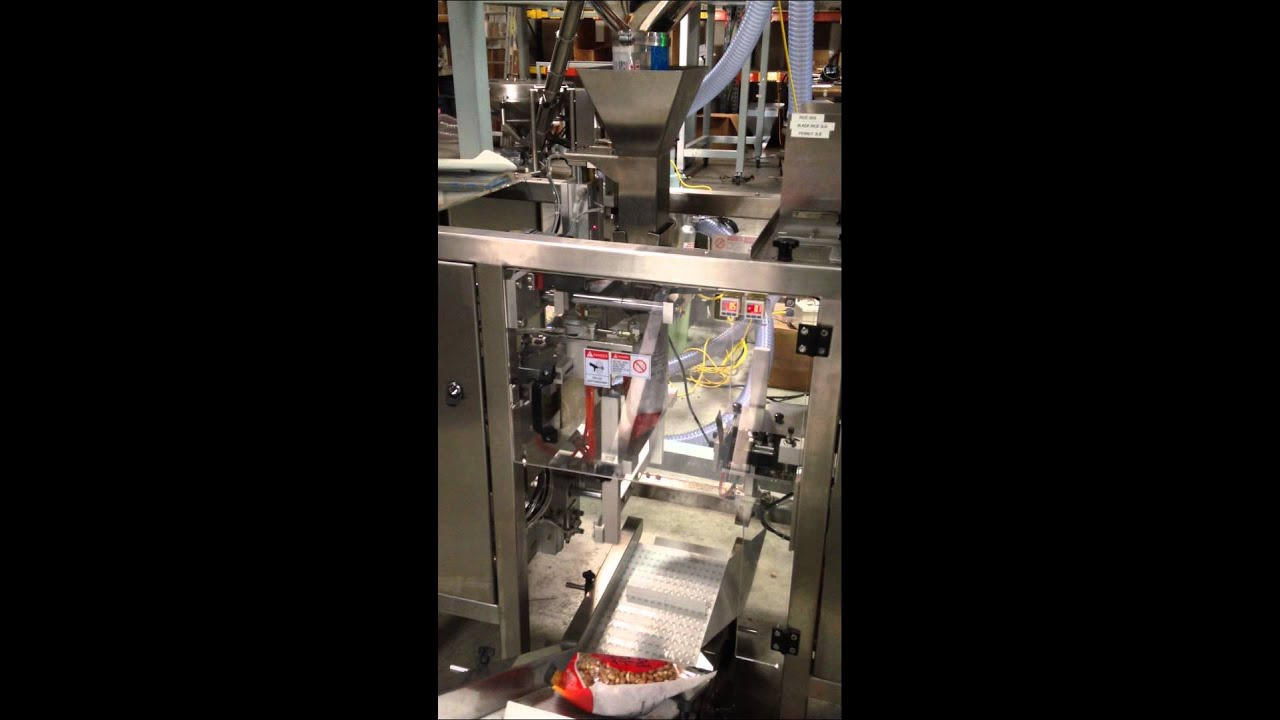 Nut Packaging Machine| Nut Weighing & Filling Machine | Nut Bagging