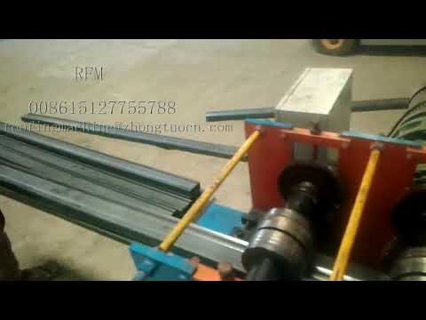 Rolling forming machine installation for whole set of storage shelf making system in Bangladesh