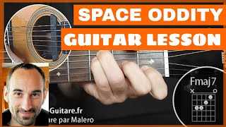 Space Oddity Guitar Lesson - part 1 of 7